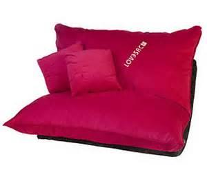 Lovesac Big Pillow Lovesac 5 Sac W Rocker Base Pillows Qvc