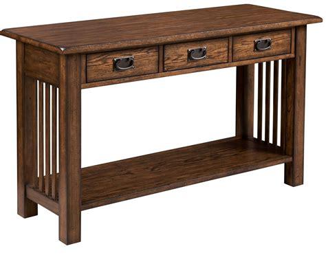Oak Sofa Table by Ii Mid Tone Oak Sofa Table From Hammary 569 925