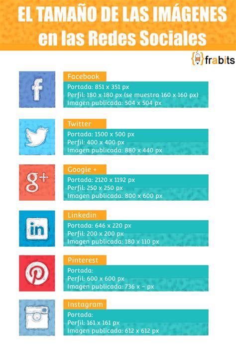 redes sociales para ver imagenes el tama 241 o de las im 225 genes en las redes sociales