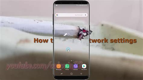 network reset on samsung s8 android nougat how to reset network settings samsung