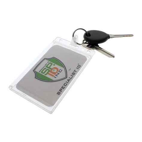 Card Holder Key Ring plastic business cards keyring images card design and
