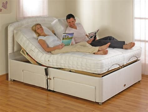 furmanac mibed emily 4ft6 electric adjustable bed by mibed