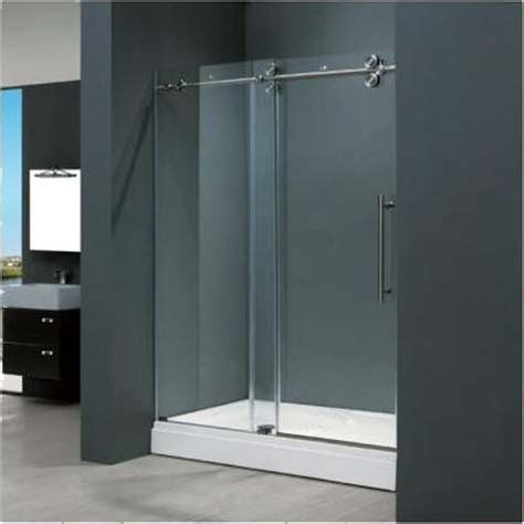 Frameless Sliding Shower Doors by Home Design Ideas Bathrooms Frameless Sliding Doors Ideas