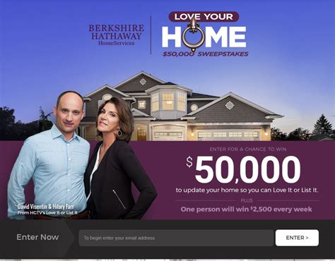 Love Your Home Sweepstakes - loveyourhomesweeps com love your home sweepstakes winzily