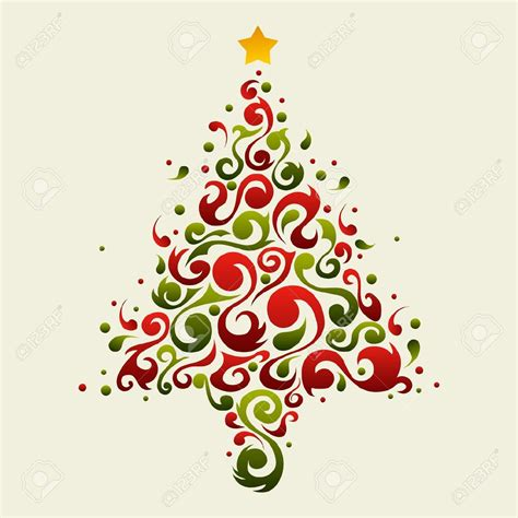abstract christmas tree clip art 101 clip art