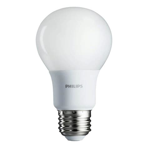 Philips 40w Equivalent Soft White A19 Non Dimmable Led Led Household Light Bulbs