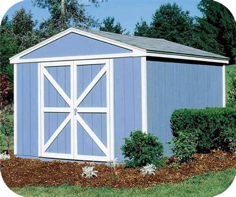 handy home somerset  wood storage shed kit