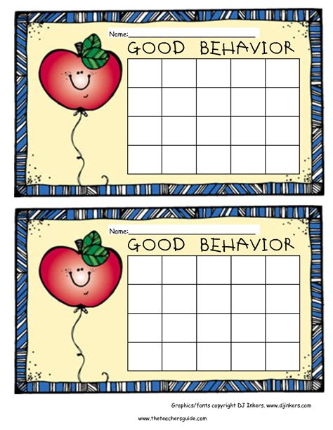printable behavior stickers free printable reward and incentive charts