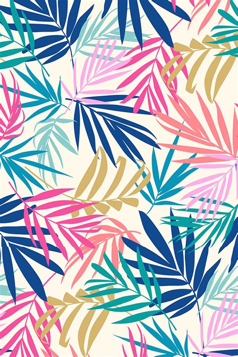 wallpaper colorful design shadow palm by laura may colorful vintage toned palm