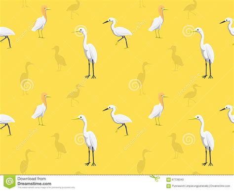 eps format wallpaper bird egret wallpaper stock vector illustration of fish