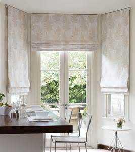 Patterned Grey Curtains Roman Blinds Dobbs Blinds Lincoln