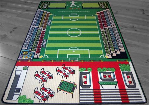 Tapis Enfant But by Tapitom Tapis Pour Enfant Football 130 X 200 Cm