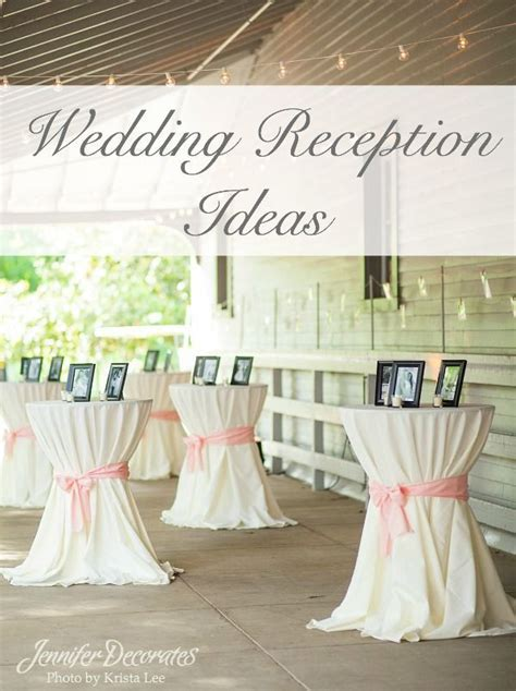 Need beautiful wedding reception ideas? Here are simple