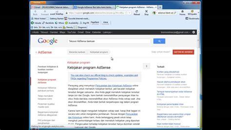 adsense youtube cara cara daftar google adsense youtube