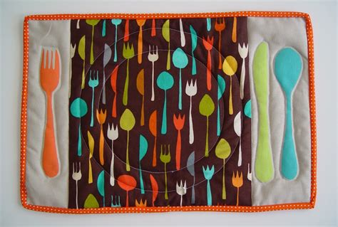 placemat patterns for tables table setting placemat punkin patterns