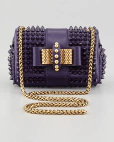 Madeline Mb Swt Purple christian louboutin sweety charity spiked crossbody bag purple