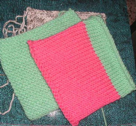 how to knit a square in the knit a square knittinggalore