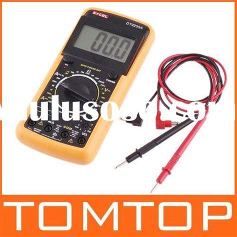 Sale Digital Voltage Tester 12 200 Volt C Mart Tools Cl0034 digital multimeter volt ohm tester new multi meter for