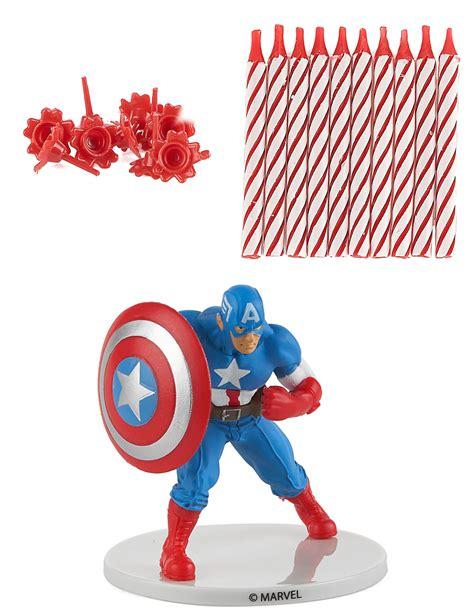 kit candele kit candele di compleanno capitan america addobbi e