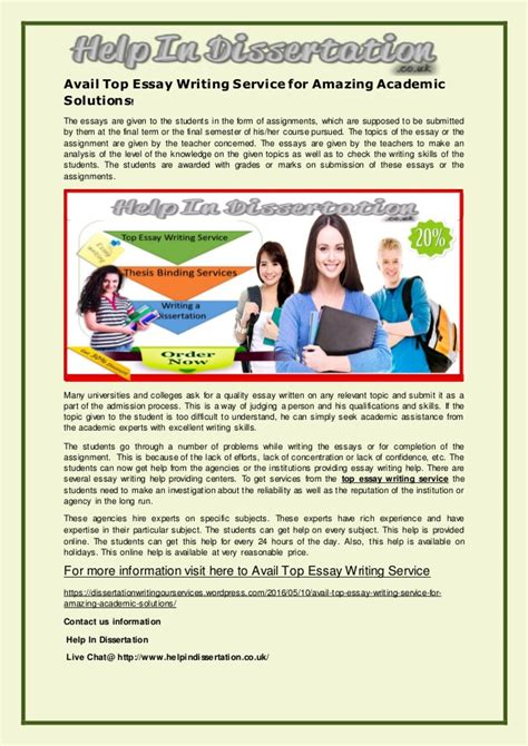Top Essay Writing Service by Top Essay Writing Services Top Essay Writing Service Ayucar