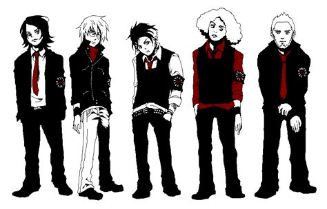 mcr pixels by kodanwolf on deviantart