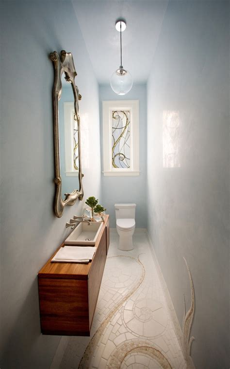 poweder room small and elegant powder room design digsdigs
