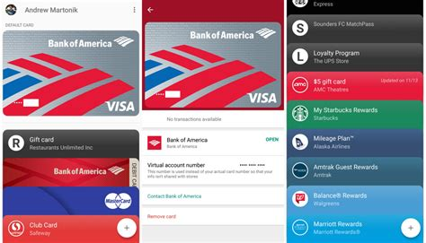 android pay cards android pay v1 14 hints at improving the linked offers interface