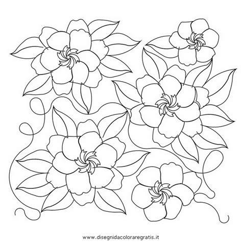 Gardenia Color Gardenia Coloring Pages