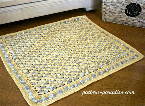 free crochet patterns for rugs free crochet pattern soothing pebbles rug pattern paradise