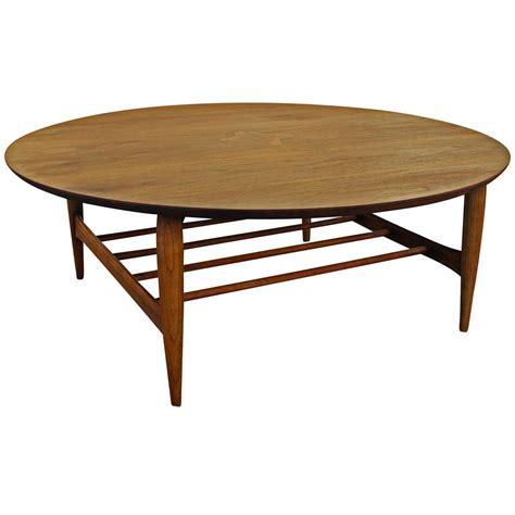 walnut inlaid coffee table at 1stdibs