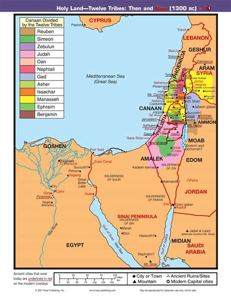 map land of 12 tribes then and now reading the bible