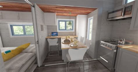 aurora tiny house   squared  bump outs
