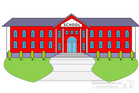 clipart school larger clipart school building pencil and in color