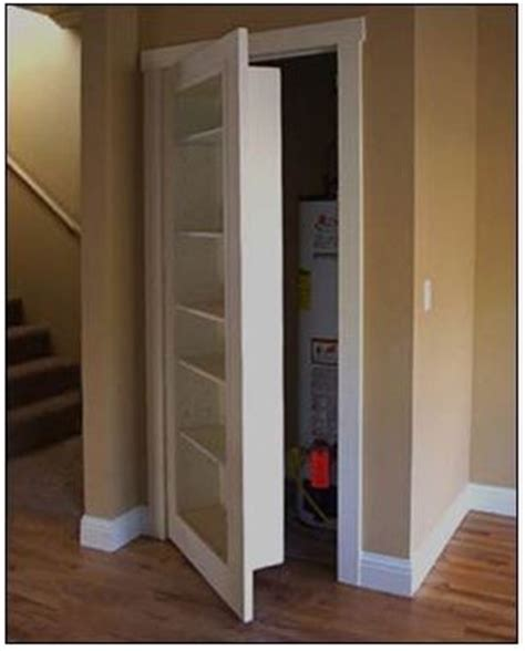Ideas For Replacing Closet Doors Bookcase Door To Replace Closet Door Awesome Home Improvement Ideas Pinterest