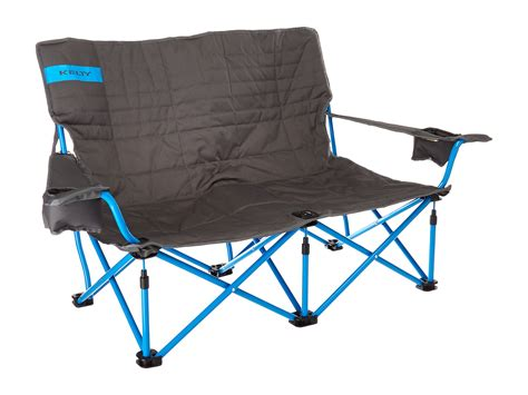 kelty loveseat kelty low loveseat chair smoke paradise blue zappos com