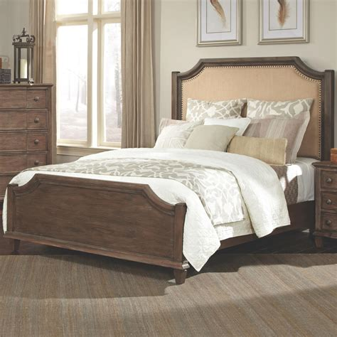 Platform Bed Las Vegas Dalgarno Platform Bed With Upholstered Headboard And