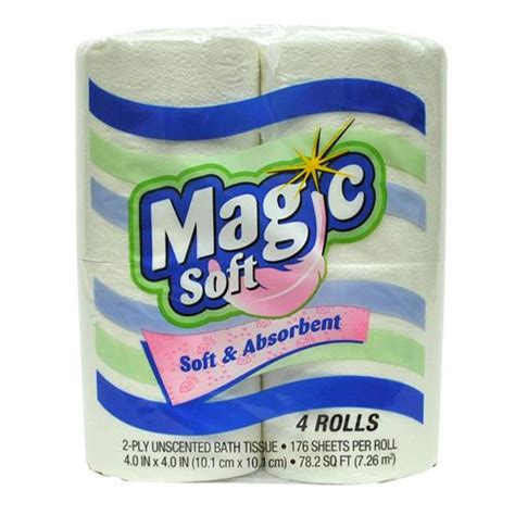 Tissue Magic wholesale magic soft bath tissue 4 pk 1 glw