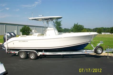 cobia boats construction cobia boats 256 cc boats for sale