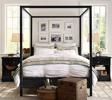 Pottery Barn Canopy Bed Frances Canopy Bed Pottery Barn