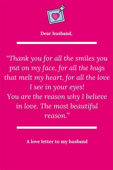 letter to my husband a letter to my husband