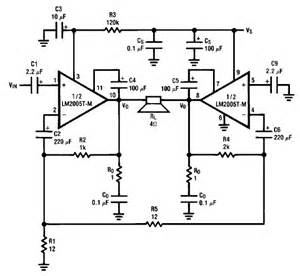 lm2005 20 watt circuit diagram electronic project circuit diagram world