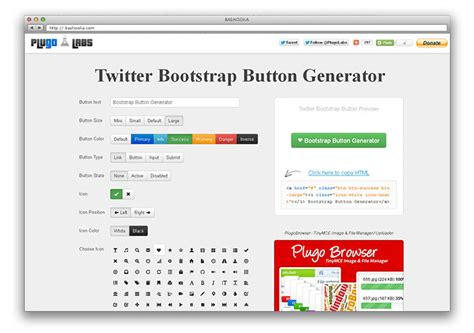 twitter bootstrap layout generator 15 great twitter bootstrap resources web graphic