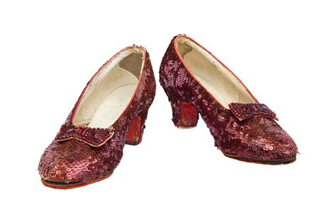 ruby slippers dorothy dorothy s ruby slippers in need of repairs and you