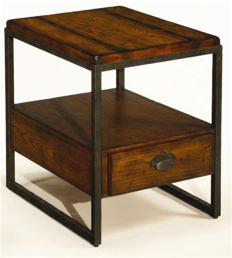 hammary baja rectangular  table  drawer wayside