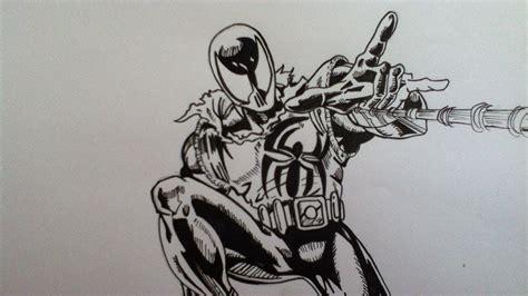 drawing scarlet spiderman youtube