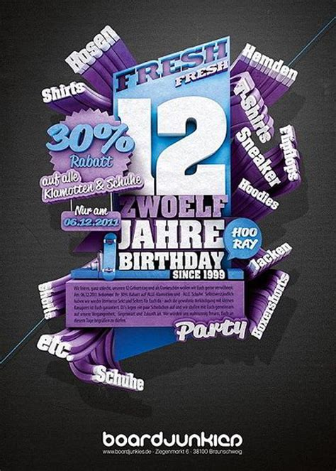 flyer layout design inspiration cool and attractive flyer designs for inspiration