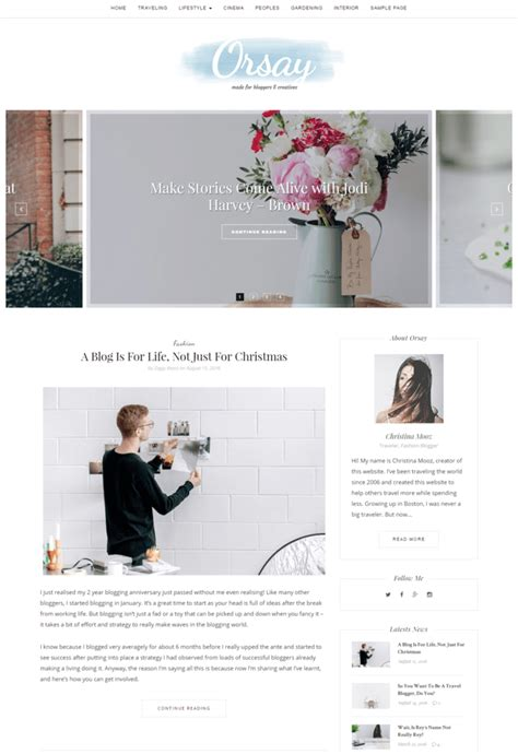 free lifestyle wordpress themes 10 best templates for