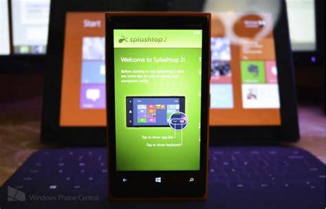 Windows Phone Giveaway - giveaway mengakses komputer dari windows phone dengan splashtop 2 winpoin