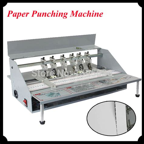 Paper Cover Machine - 1pc electric book cover creasing machine paper punching