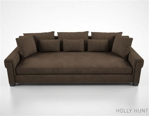 holly hunt sofa price holly hunt coco sofa 3d model max obj fbx cgtrader com